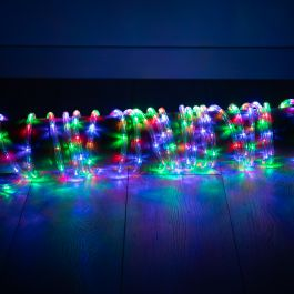 9m Multi Coloured and Multi-action LED Rope Lights