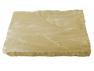 Natural Sandstone Patio Kit 10.2 m² Cornfield