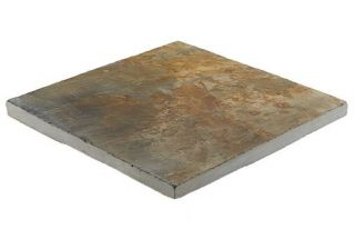 Natural Slate Patio Kit 10.2 m² Rustic Bronze