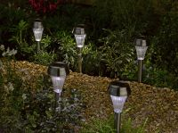 Smart Solar Colour Changing Border Lights (8 Pack)