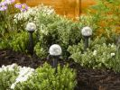 Smart Solar Crystal Crackle Globe Border Lights (6 Pack)