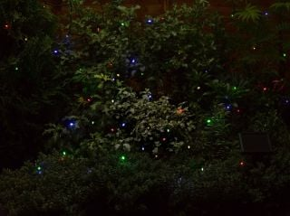 50 (6.9m) Solar Powered Coloured Garden String Lights by Smart Solar