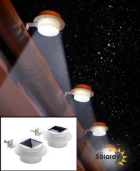 Easyfit Solar Gutter Downlights pair – by Solaray™
