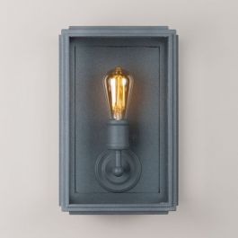 38cm London Wall Lamp LED Filament Bulb - Wide