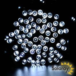 2 X 5m 30 White LED Solar Fairy String Lights by Solaray