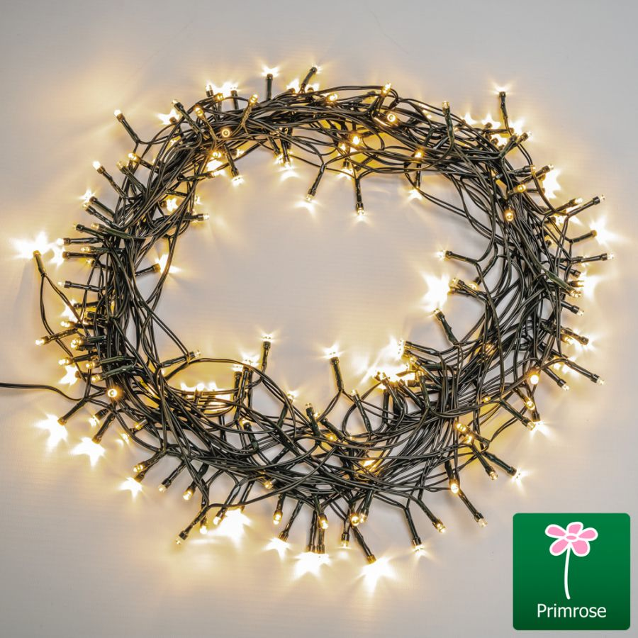 200LED / 22m White LED Battery Operated Fairy String Lights by Primrose™