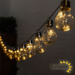 30 Solar Bulbs LED 6.35m String Light by Solaray™