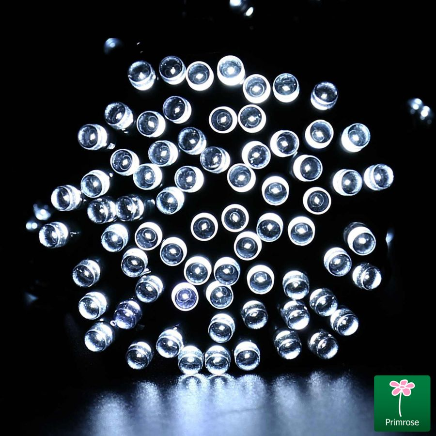 30LED / 5m White LED Battery Operated Fairy String Lights by Primrose™