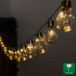 6.35m Battery Operated Bulb String Light (30 LED) by Primrose™