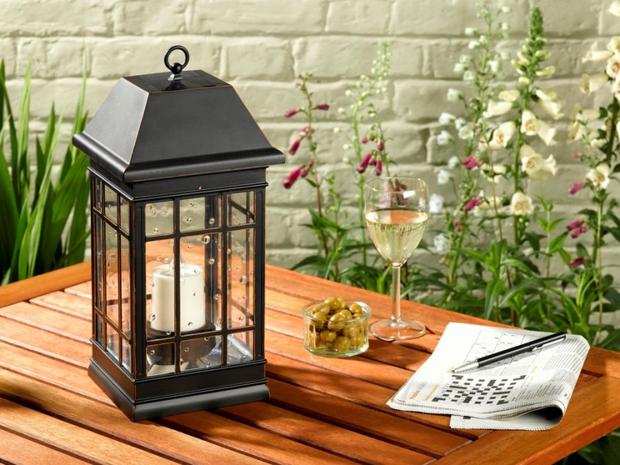 Seville Solar Powered Decorative Lantern by Smart Garden