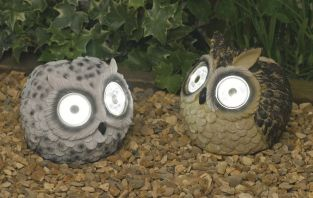 Smart Solar Owl Spotlight - 2 Pack