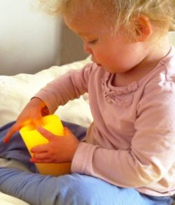 Electric Battery candles are safe, even for children