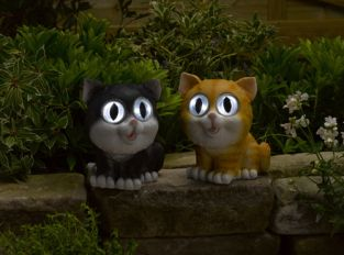 Smart Solar Bright Eyed Cat (Pack of 2)