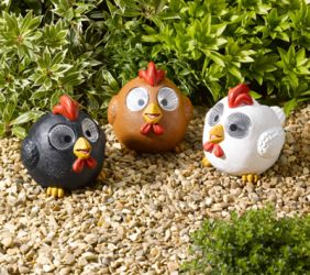 Smart Solar Bright Eyed Hens (Pack of 3)