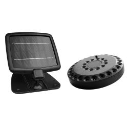 Vortex Solar Shed Light