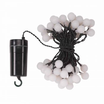 Smart Garden 50 LED Ball String Lights - Battery Powered