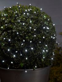 Smart Garden 50 White LED String Light - Battery Powered