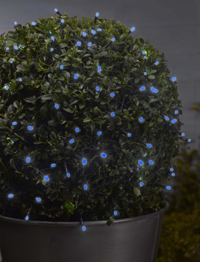 100 Blue LED String Light
