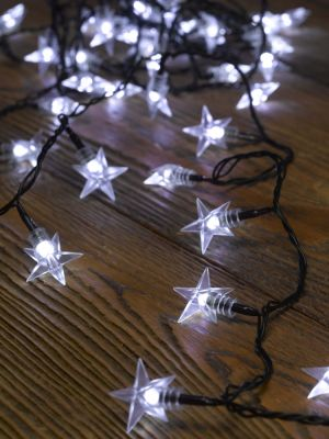 Smart Garden 100 Star LED String Lights - Battery Powered