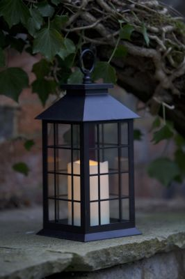 Smart Garden Window Candle LED Lantern - Battery Powered