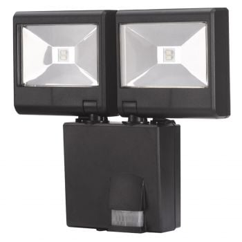 Smart Garden Dual Head PIR Security Light - Battery Powered
