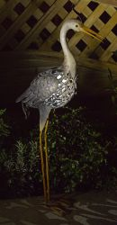 Smart Solar Silhouette Garden Light - Heron