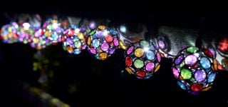 Smart Garden 10 Multi-Glow Solar String Lights