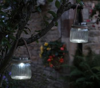 Smart Garden Cornish Sea Lantern Solar Lights - Pack of 2