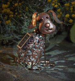 Smart Garden Solar Powered Metal Decorative Dog Silhouette