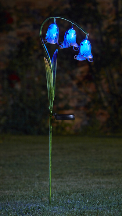 Smart Garden Decorative Solar Powered Bluebell Flowers -  Set of 2