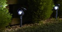Smart Solar Prima Super Bright Garden Solar Powered Spotlights - Set of 4