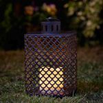 Smart Garden Cairene Decorative Garden Light LED Flickering Candle Lantern - Set of 2