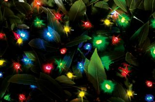100 Multicoloured LED String Lights