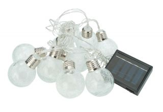 10 Ice Orb String Lights