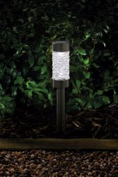 3L Solar Powered Montana Nickel Stake Light by Smart Solar