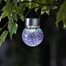 5L Solar Powered 3D Cosmos Hanging Globe Light by Smart Garden