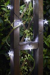 50 15L Solar Powered Super Bright Stars String Lights by Smart Garden