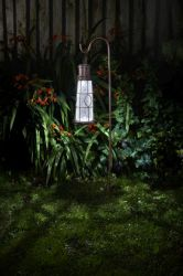 Solar Powered Lighthouse Shaped Lantern by Smart Garden