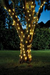 50 LED Solar Powered Firefly String Lights by Smart Garden