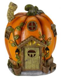 Smart Solar - Solar Powered Light - Decorative Humpkin House
