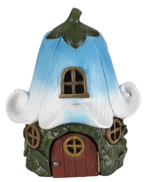 Solar Powered Decorative Bluebell Cottage Light by Smart Solar