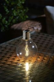 Eureka! Solar Powered Vintage Light Bulb by Smart Garden