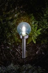 Smart Garden - Eureka! Solar Powered Colour Changing Retro Orb Stake Light