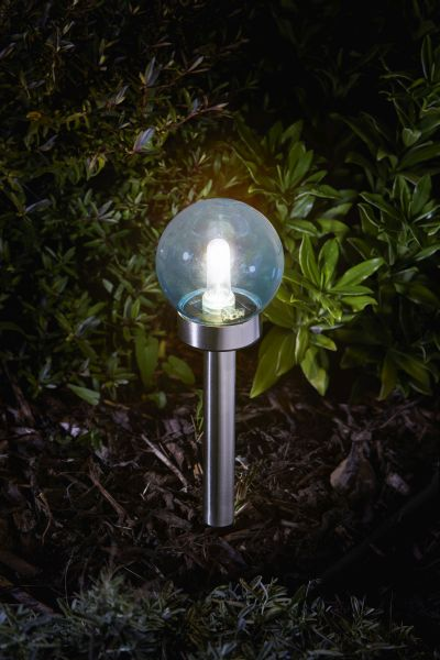 Smart Garden - Eureka! Solar Powered Retro Orb Stake Light