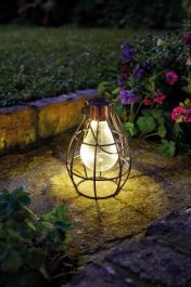 Eureka! Medium Solar Powered Firefly Lantern by Smart Garden
