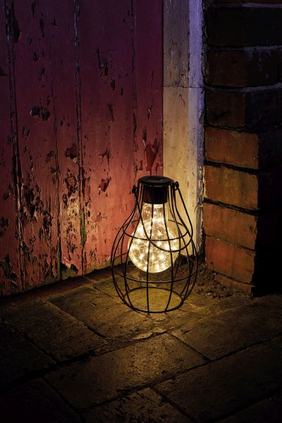 Eureka! Large Solar Powered Firefly Lantern by Smart Garden