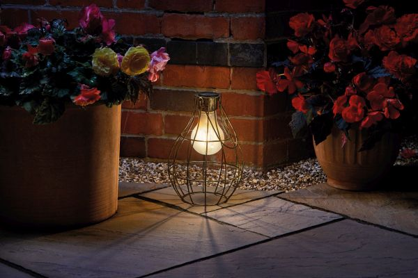 Eureka! Solar Powered Retro Lantern by Smart Garden