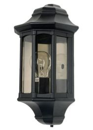 Elstead Newbury Outdoor Half Lantern