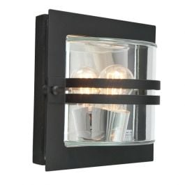 Elstead Bern Black Clear Outdoor Light