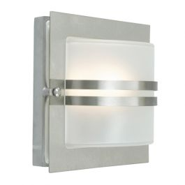 Elstead Bern Stainless Steel Clear Outdoor Light